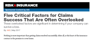 Five Claims Factors